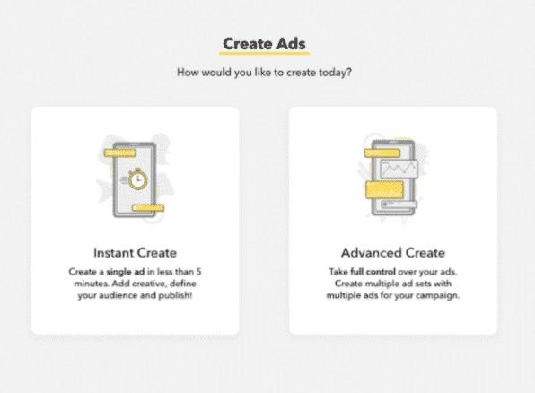 Instant Ad Vs Advanced Ad