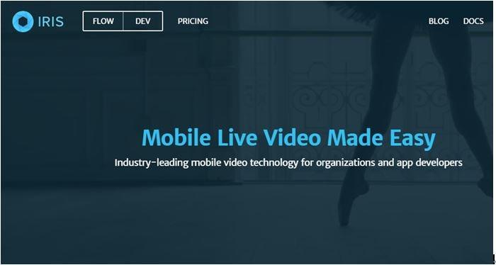 live streaming platforms - IRIS