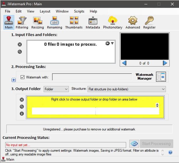 Photo watermark software Iwatermark Pro