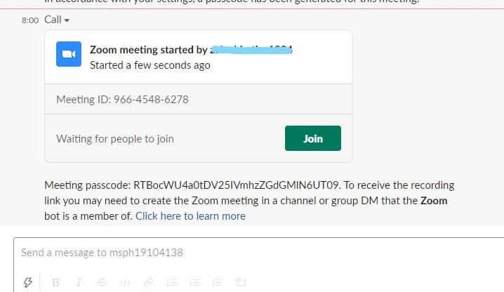 Join Slack Meeting