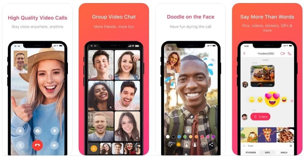 Alternativa FaceTime: JusTalk Video Chat & Messenger