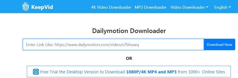 KeepVid  online video Downloader and converter
