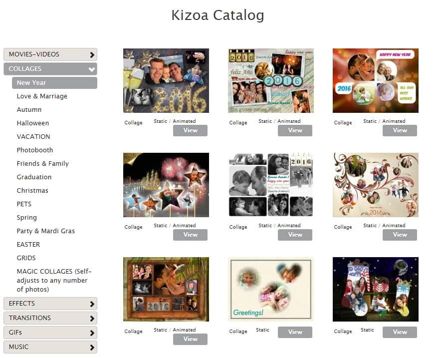Kizoa Faça Colagem de Vídeo
