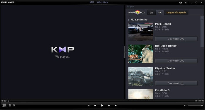 Best 8 free 4k UHD video player software for PC&Mac