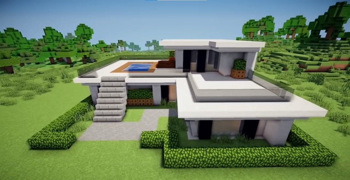 large-modern-house-poster