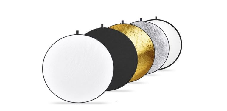 if your strong main light is too hard on your eyes then you can use a translucent reflector to soften it set your translucent reflector or other screen affordable lighting set