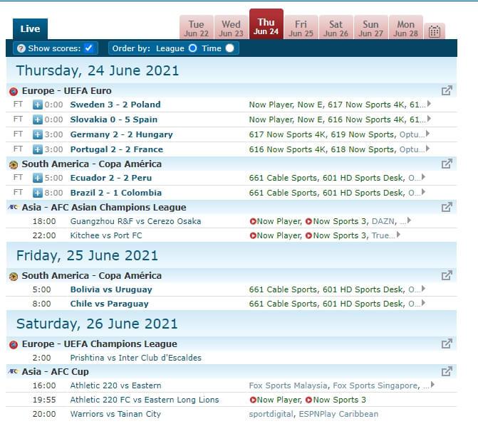 livesoccertv-timetable