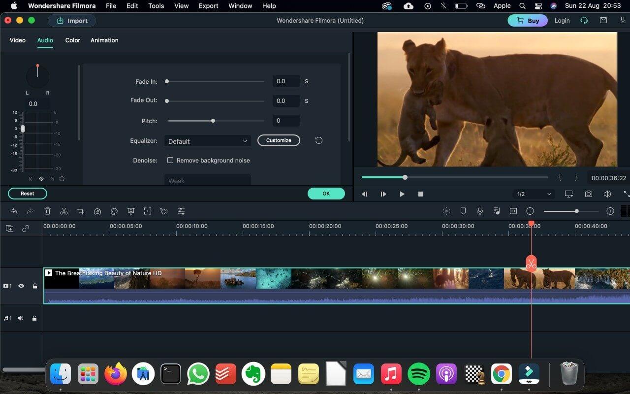mac mini performs well on video editing