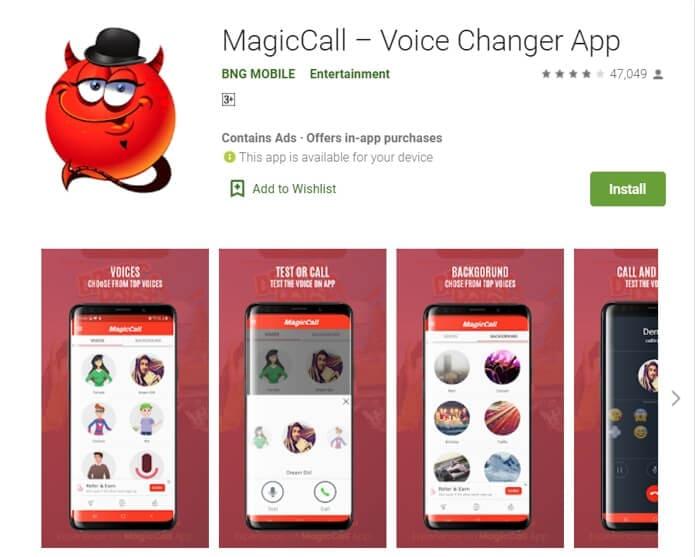 Magic Call App