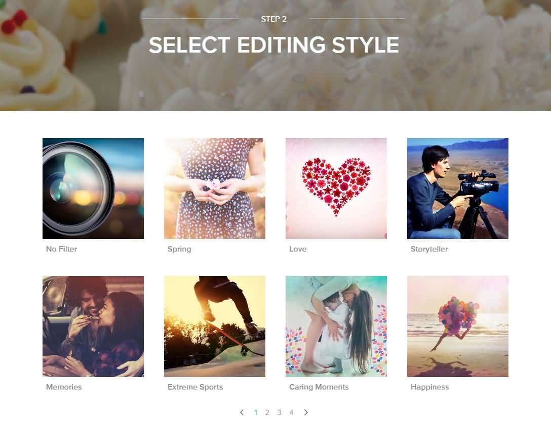 choose editing style