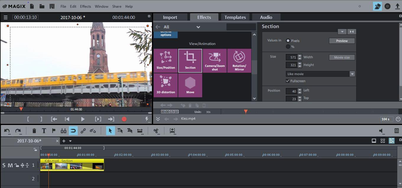 magix movie edit pro plus tutorial