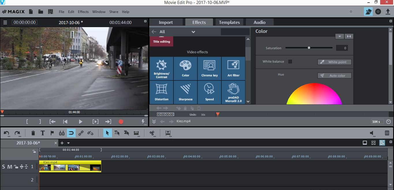How to Edit GoPro 4K Videos in Magix Movie Edit Pro