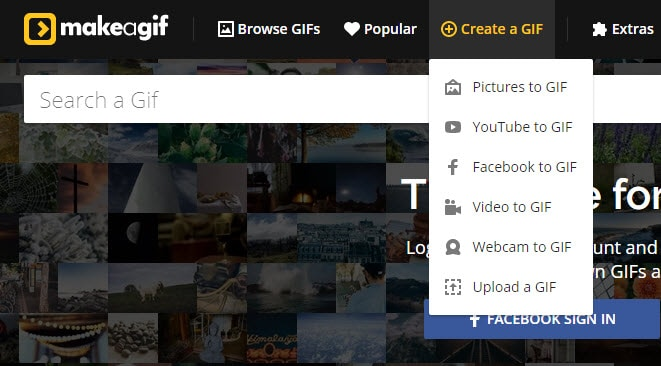 online gif maker MakeaGIF