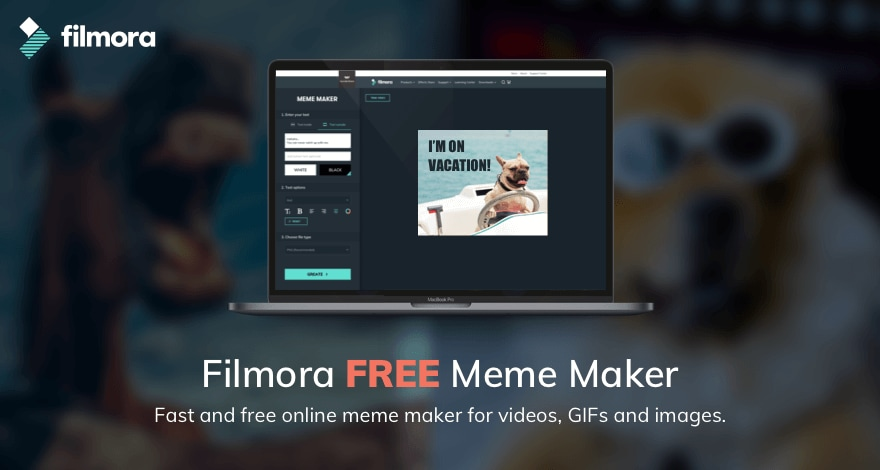Free Video Gif Image Meme Generator Offered By Filmora