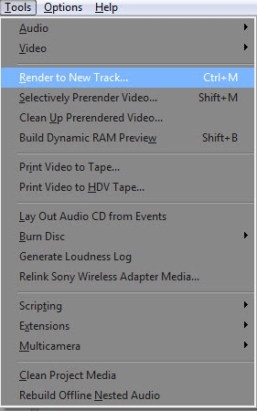 Use Ctrl+M shortcut key or hit Tools