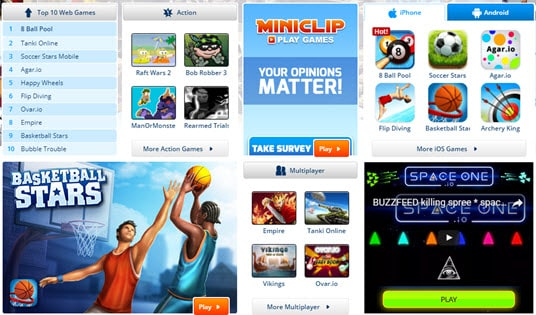 Moreover, you always have a guide(text and video guide) to help you  navigate new games. Just join other gamers at MINIclip and enjoy playing  free games.