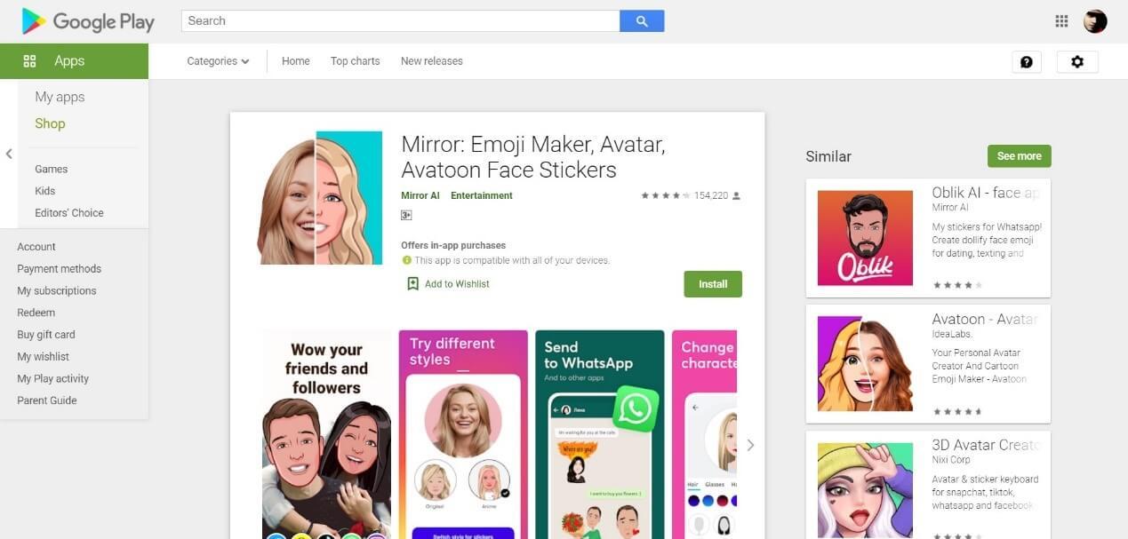 Mirror Emoji Maker