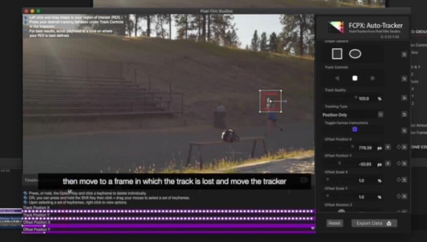 FCPX Auto Tracker Plugin