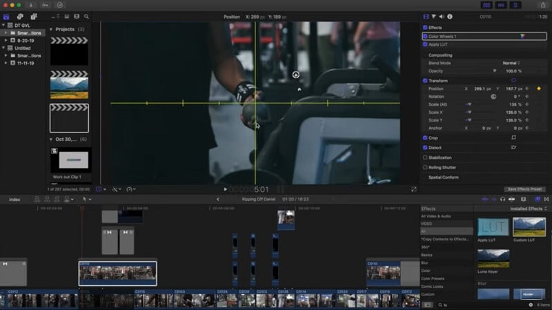 Zoom and Focus in Final Cut Pro