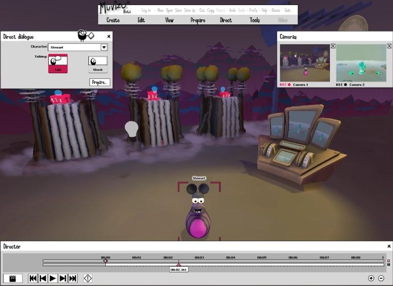 Muvizu video animation tools