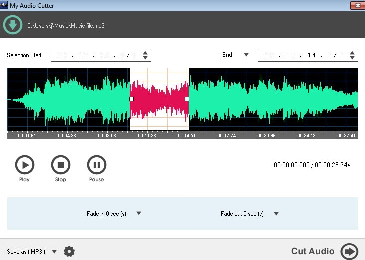 My Audio Cutter: