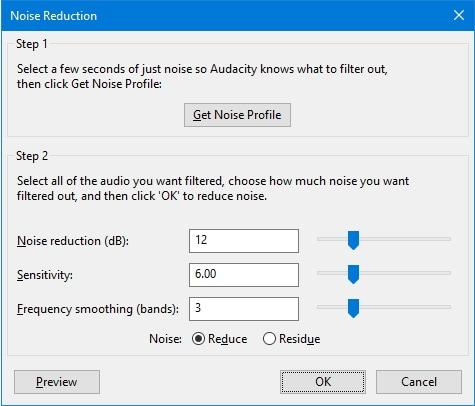 Noise Reductioin