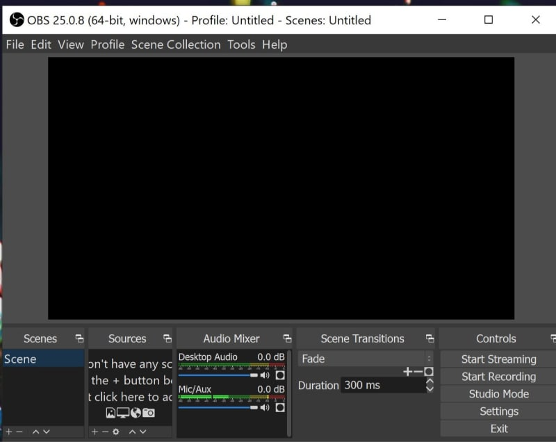 OBS Studio Screen Recorder
