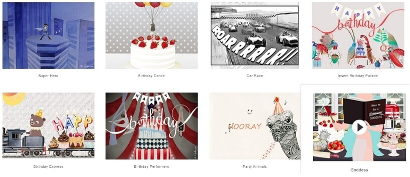best online birthday ecard maker - Ojolie
