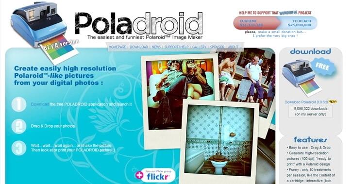 online-poladroid