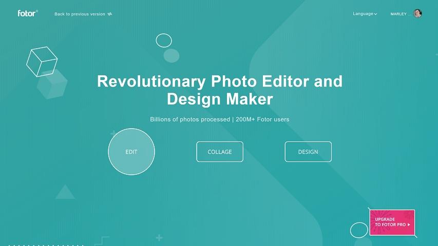 open fotor website