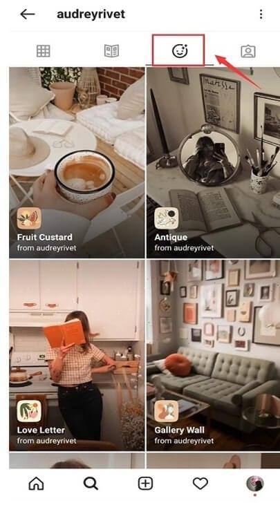 Find Instagram Filter - search creator