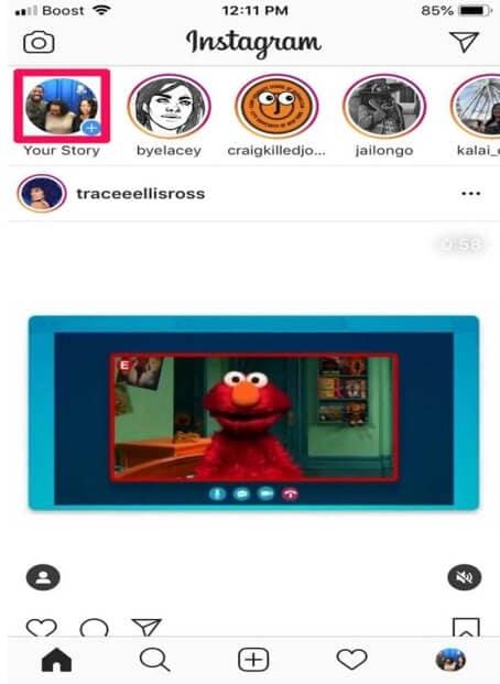 Find Instagram Filter - Open Story