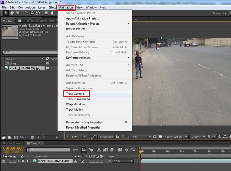 open-track-camera-after-effects