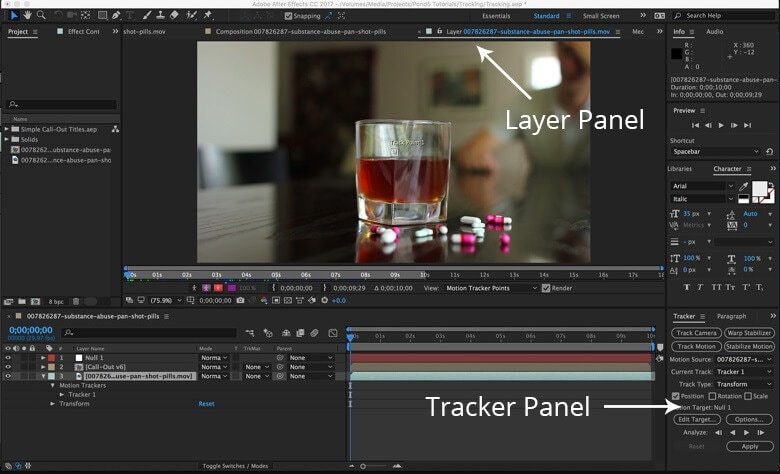 open-tracker-panel-tracking-motion-after-effects