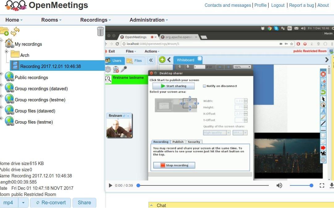 Apache OpenMeetings