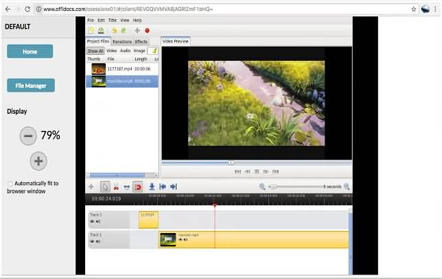 OpenShot Online Video Editor