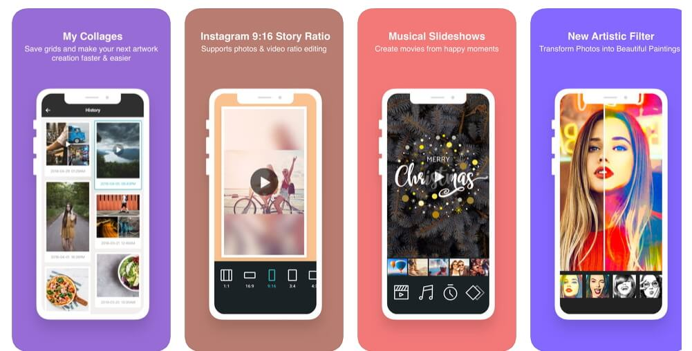 Video Collage Making Apps for iPhone & iPad