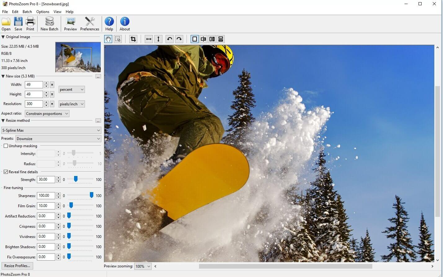 PhotoZoom Pro  Photo Editing Software for beginners