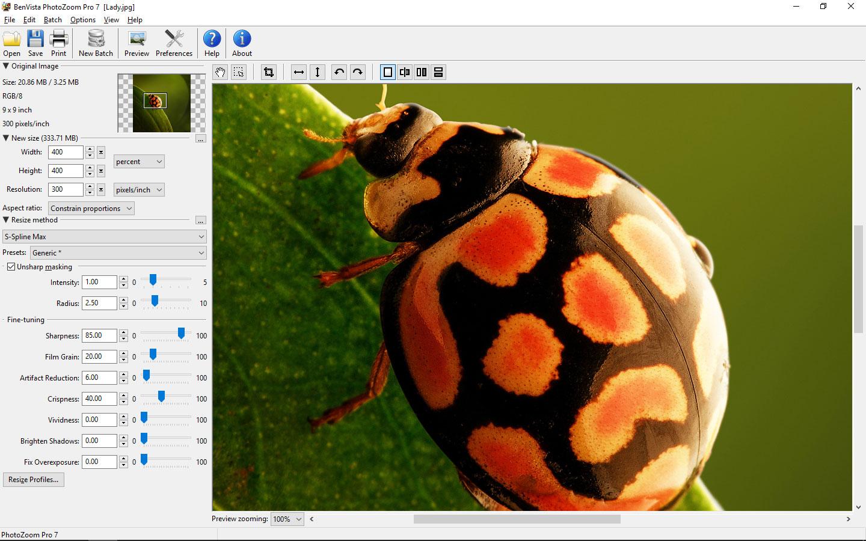 Photo Zoom Pro 7-图像调整器使用方法与下载安装
