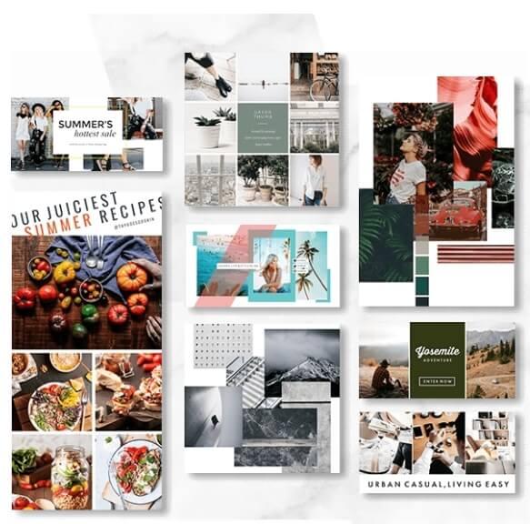 PicMonkey online Foto-Kollagen-Ersteller