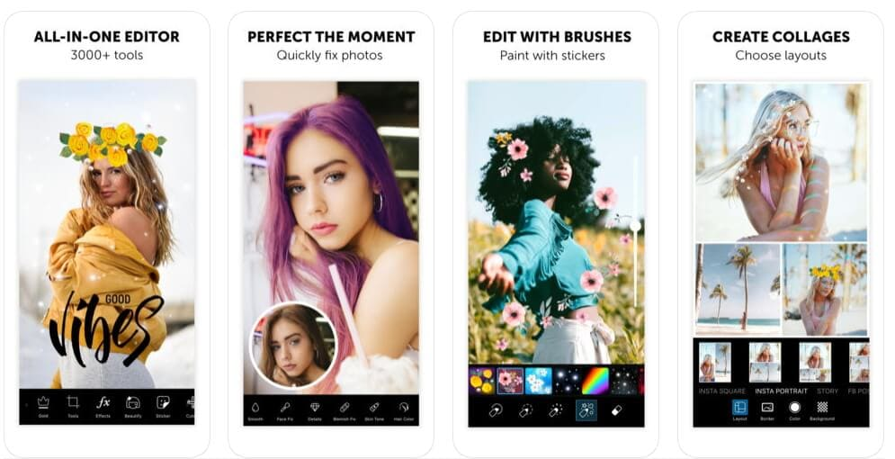 Vignette Effects app