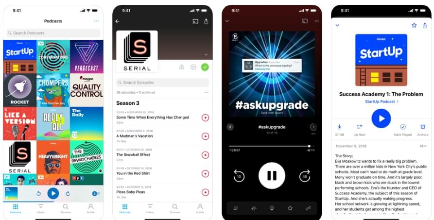 Best Podcast Player App - Pocket Casts