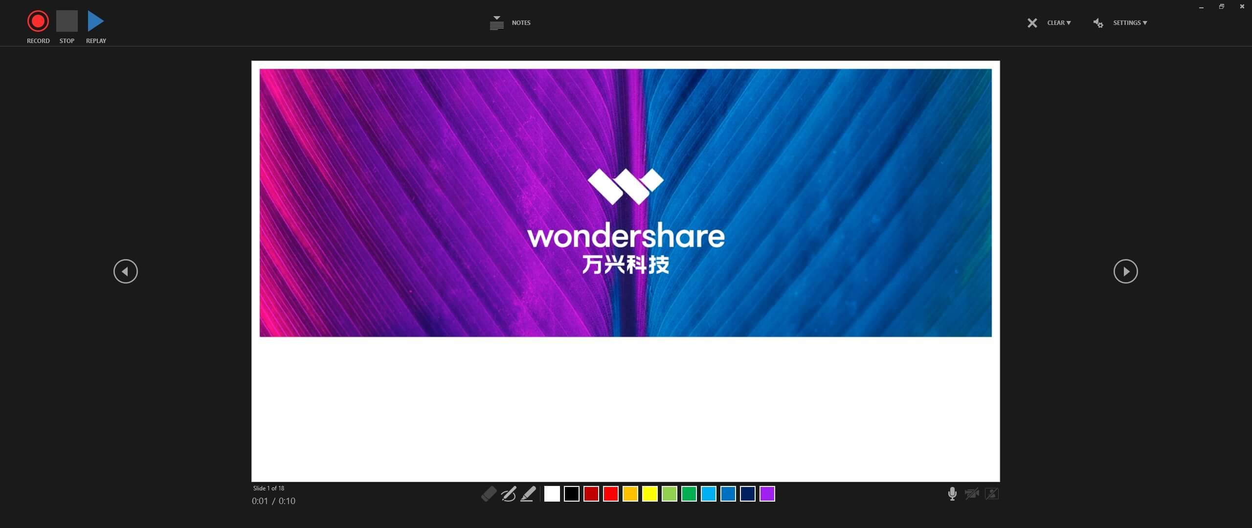 Record PowerPoint Slideshow