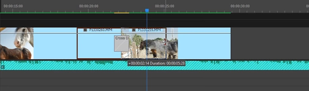 use adobe premiere pro transitions