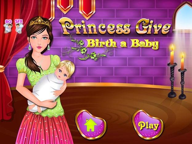 princess give birth a baby 1