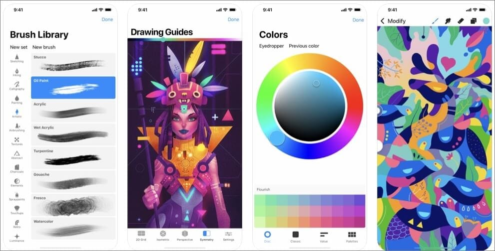 Procreate Pocket Drawing App