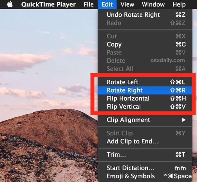 mac video rotator