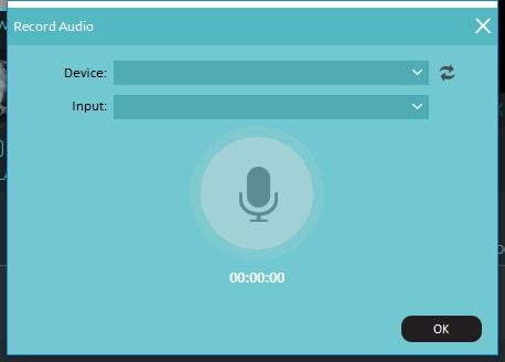 record audio of video