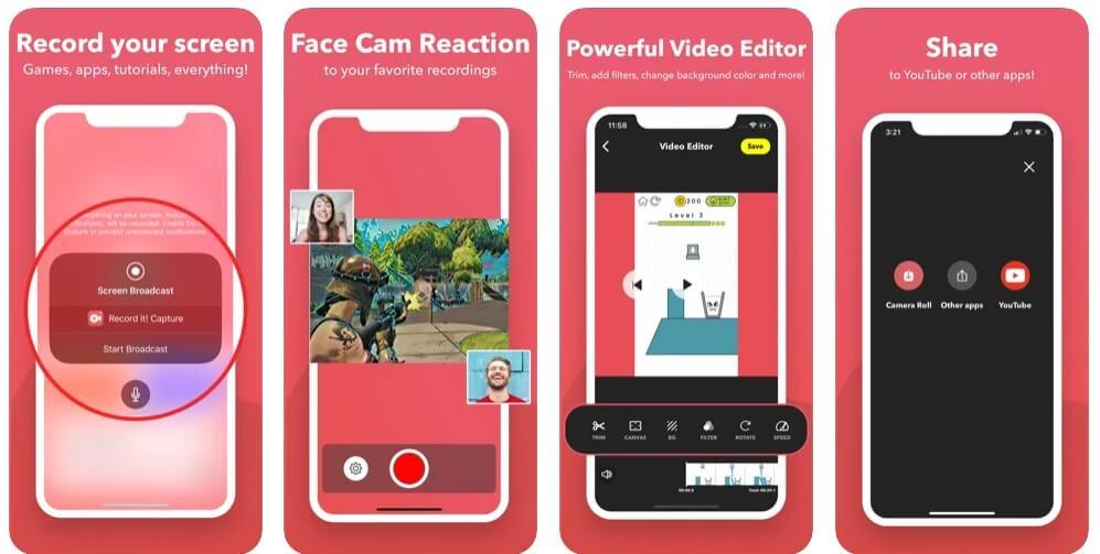 google meet video recorder app -  Record It