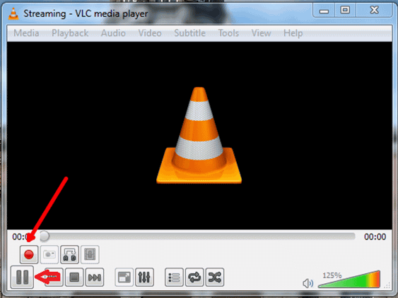 VLC Media Player Screen Recorder